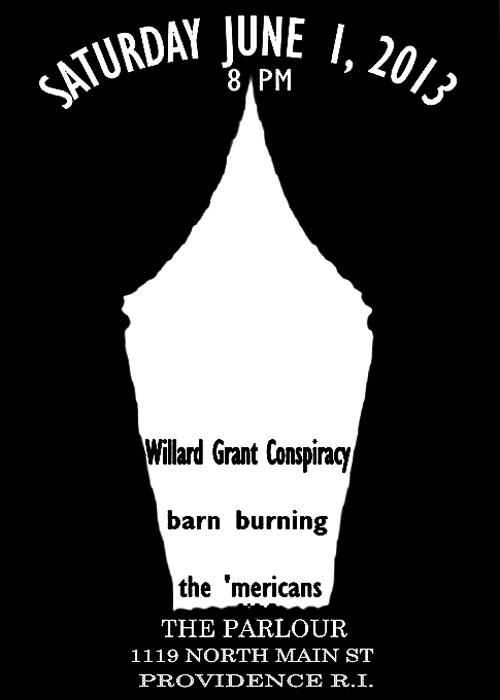 the-mericans-with-willard-grant-and-barn-burning-1st-june-2013-poster