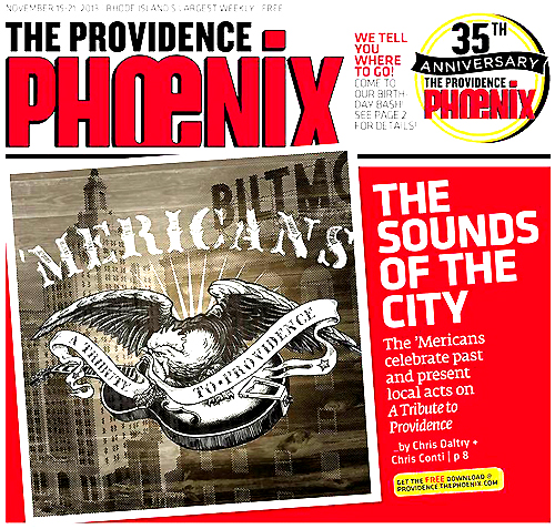 the Providence Phoenix Feature the 'Mericans album 'A Tribute to Providence'
